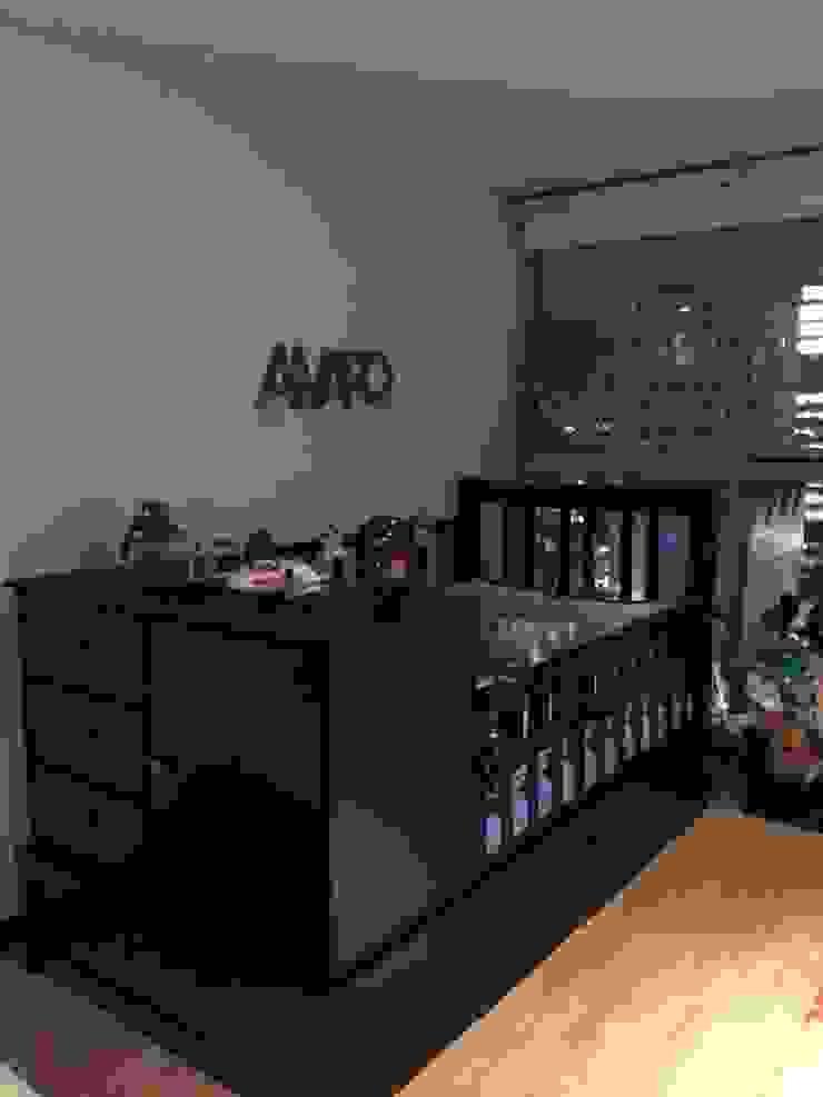 Departamento Gran Polanco Dormitorios infantiles modernos de ARKIZA ARQUITECTOS by Arq. Jacqueline Zago Hurtado Moderno Madera Acabado en madera