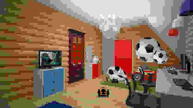 Коттедж п. Устиновка Детская комнатa в классическом стиле от дизайн-бюро ARTTUNDRA Классический