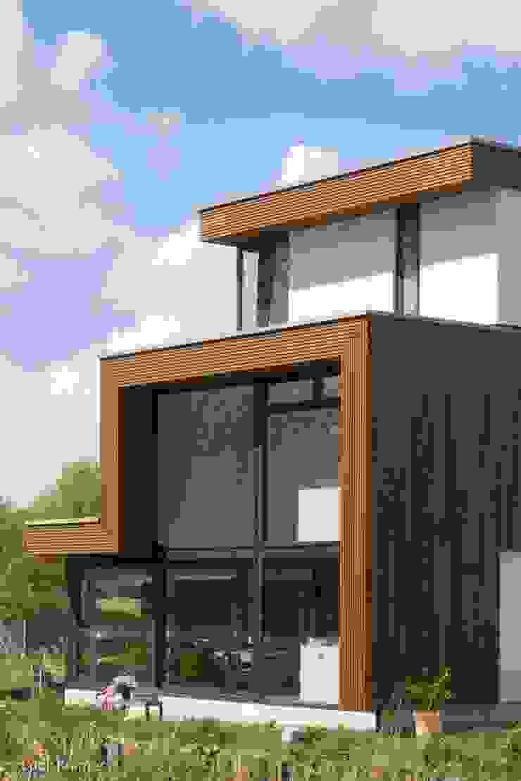 Villa's Gele Lis_02 Moderne huizen van HOYT architecten Modern