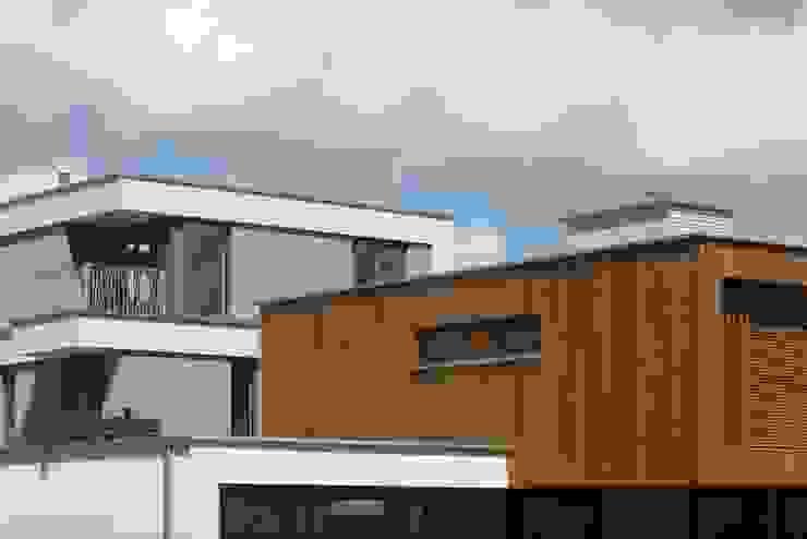 Villa's Gele Lis_04 Moderne huizen van HOYT architecten Modern