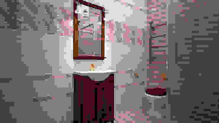 Коттедж п. Устиновка Ванная в классическом стиле от дизайн-бюро ARTTUNDRA Классический