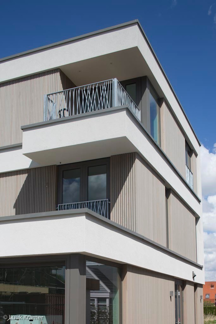 Villa's Gele Lis_05 Moderne huizen van HOYT architecten Modern