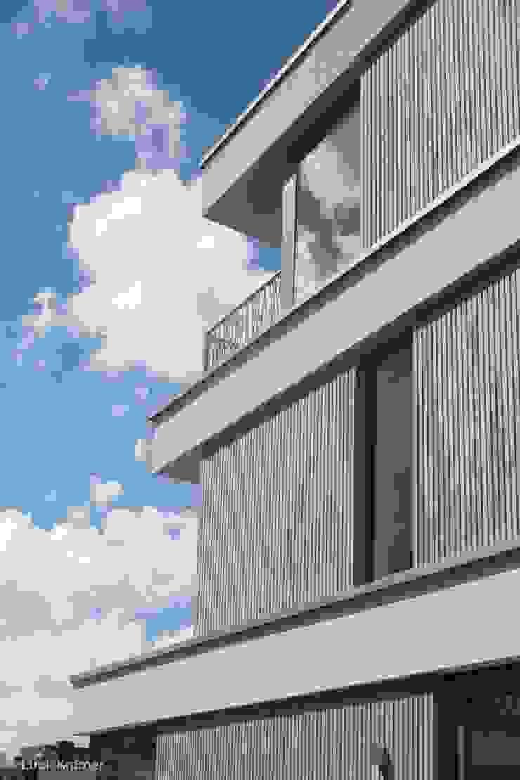 Villa's Gele Lis_06 Moderne huizen van HOYT architecten Modern