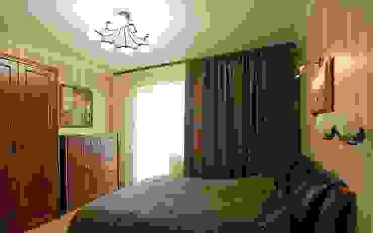 Спальня хозяина INTERIOR PROJECT studio