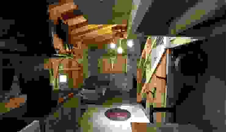 Living room by Cabanes du Varon