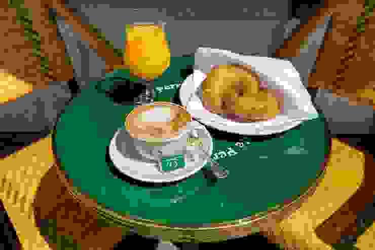 Le café Le perroquet vert - Bienne Suisse Ardamez Gastronomie originale