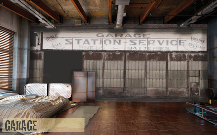 de estilo industrial por Creativespace Sartoria Murale, Industrial