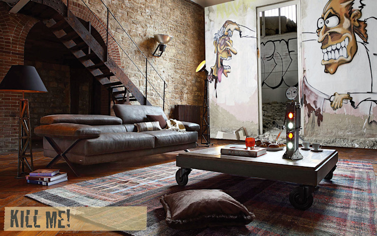 eclectic  by Creativespace Sartoria Murale, Eclectic
