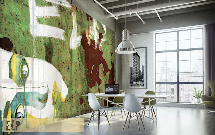 industrial  by Creativespace Sartoria Murale, Industrial