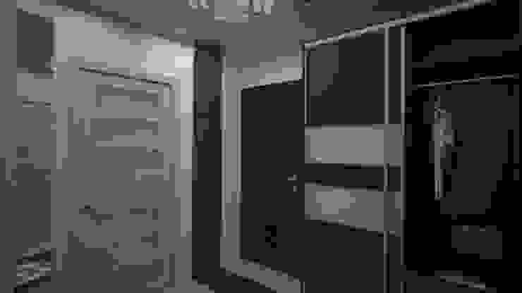 Квартира студия г. Балашиха Коридор, прихожая и лестница в модерн стиле от дизайн-бюро ARTTUNDRA Модерн