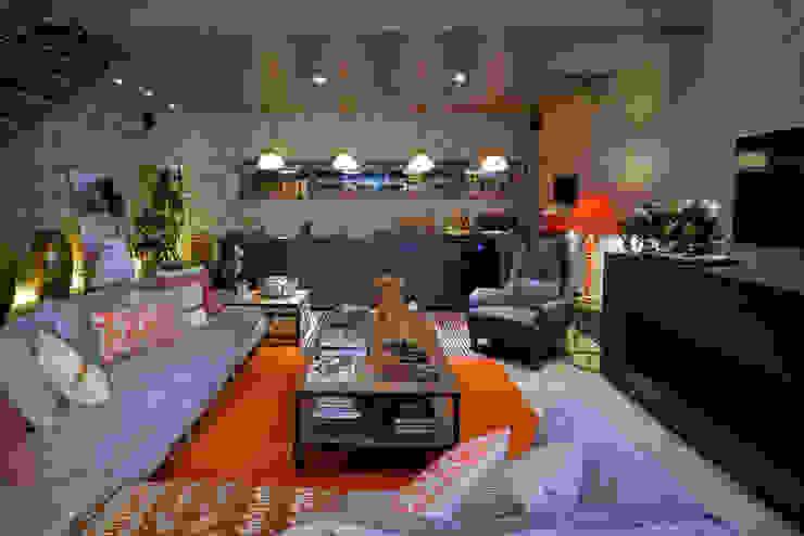 Loft Sustentável - Ambiente da Casa Cor SC 2015 por Studium Saut Arte & Interiores Moderno
