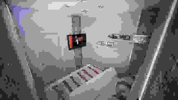 Превращение однокомнатной квартиры в двухкомнатную Спальня в стиле минимализм от дизайн-бюро ARTTUNDRA Минимализм