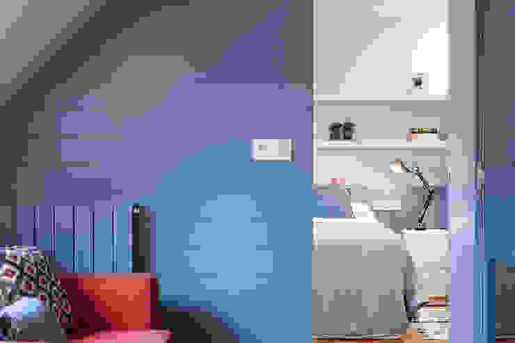 Apartamento 45m2 en el Ensanche de Bilbao Dormitorios modernos de Urbana Interiorismo Moderno