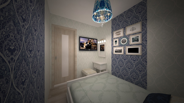 Modern Bedroom by дизайн-бюро ARTTUNDRA Modern