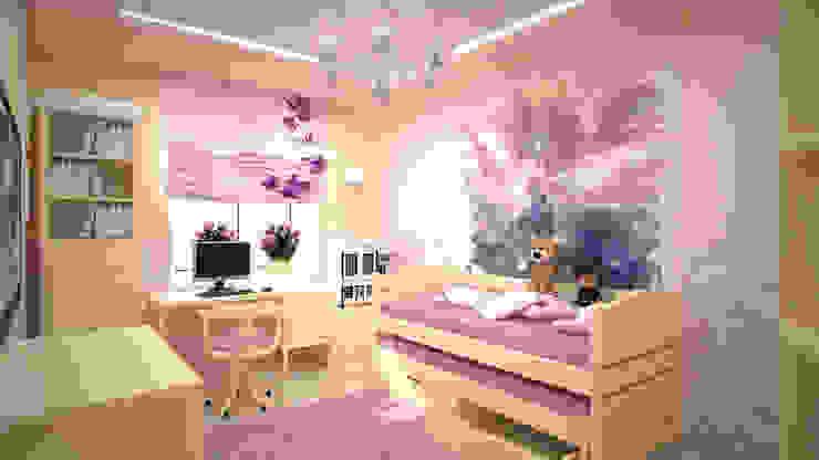 Minimalist nursery/kids room by дизайн-бюро ARTTUNDRA Minimalist