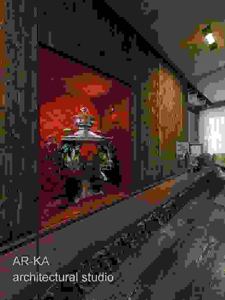 Супер - МИНИ с хорошим вкусом Коридор, прихожая и лестница в стиле лофт от AR-KA architectural studio Лофт