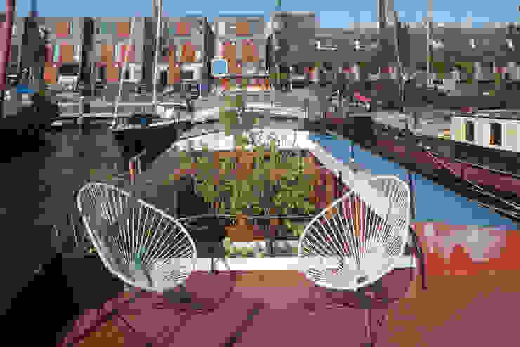WOONSCHIP LA GONDOLA_02 Moderne jachten & jets van HOYT architecten Modern