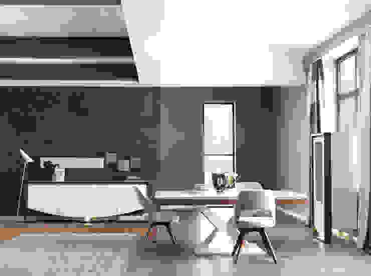 NILL'S FURNITURE DESIGN – Bade Yemek Odası: modern tarz , Modern