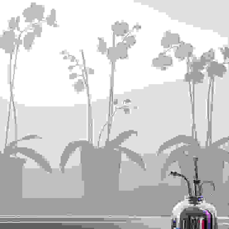 Orchids in Pots BY MAY/ Siluett Frost Window Film Windows & doors Window decoration