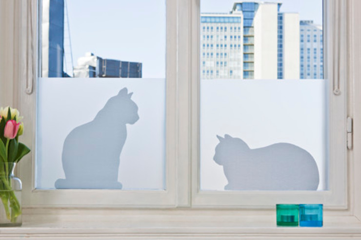 Cats in window BY MAY/ Siluett Frost Window Film Windows & doors Window decoration