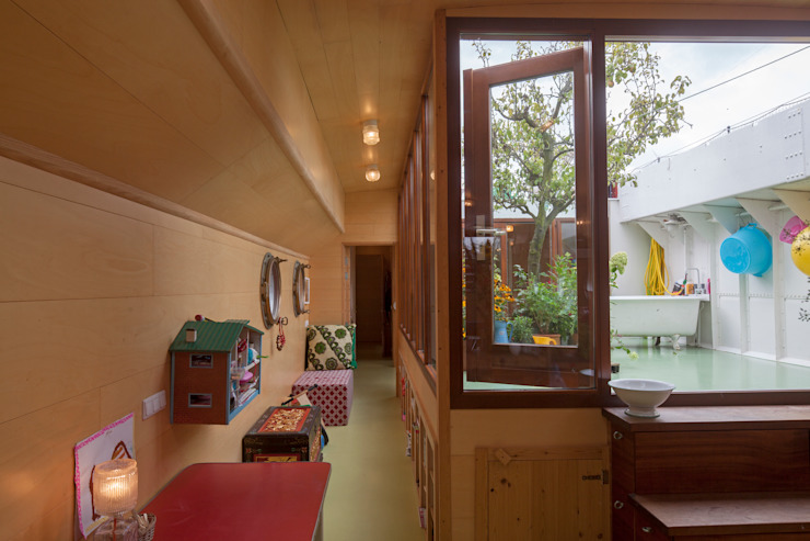 WOONSCHIP LA GONDOLA_09 Moderne jachten & jets van HOYT architecten Modern