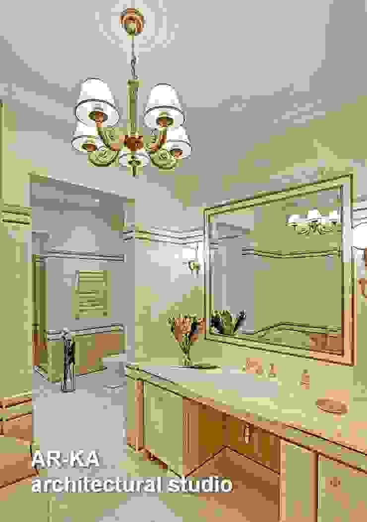 Принцип семейного совета Ванная в классическом стиле от AR-KA architectural studio Классический