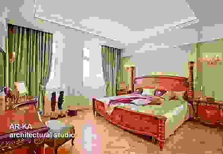 Принцип семейного совета Спальня в классическом стиле от AR-KA architectural studio Классический