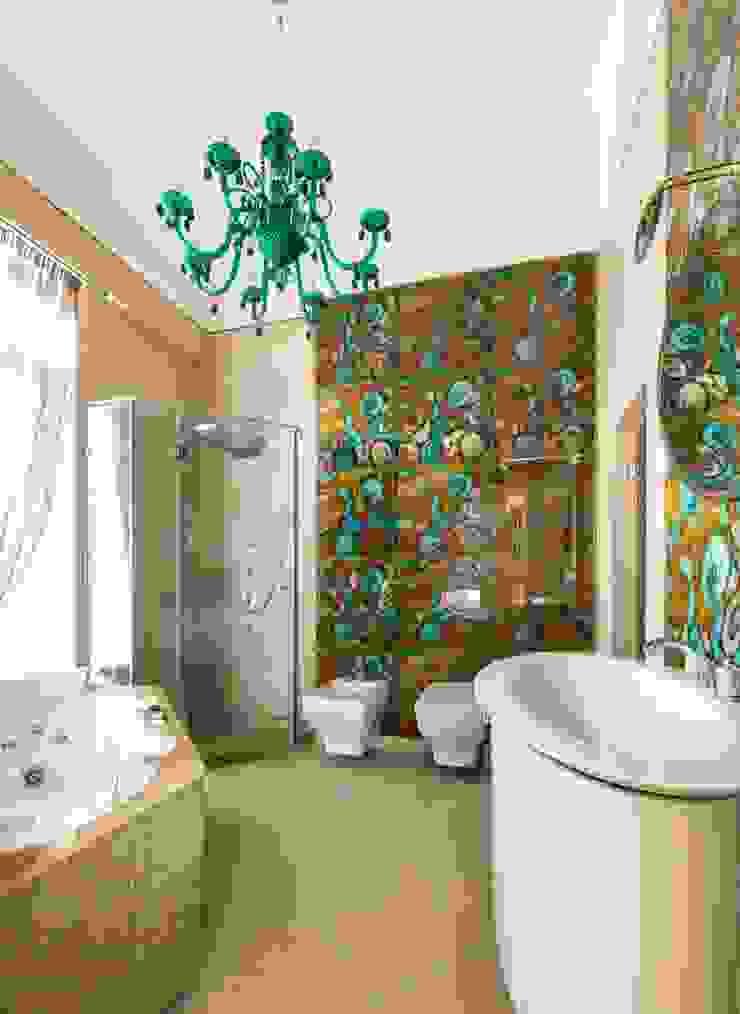 ванна:  в современный. Автор – Архитектурно-дизайнерское бюро Натальи Медведевой 'APRIORI design', Модерн