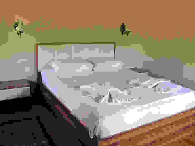 Cıralı Beach Bungalows Mediterranean style bedroom