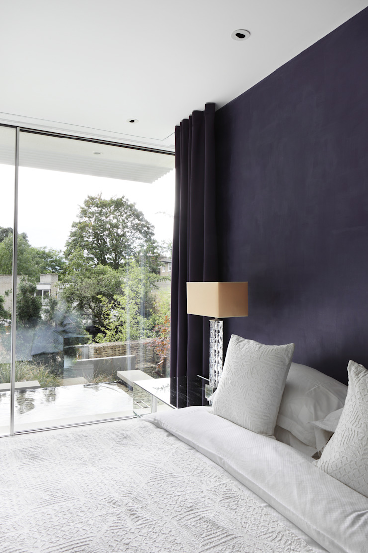 E2 PAVILION ECO HOUSE, BLACKHEATH Modern style bedroom by E2 Architecture + Interiors Modern