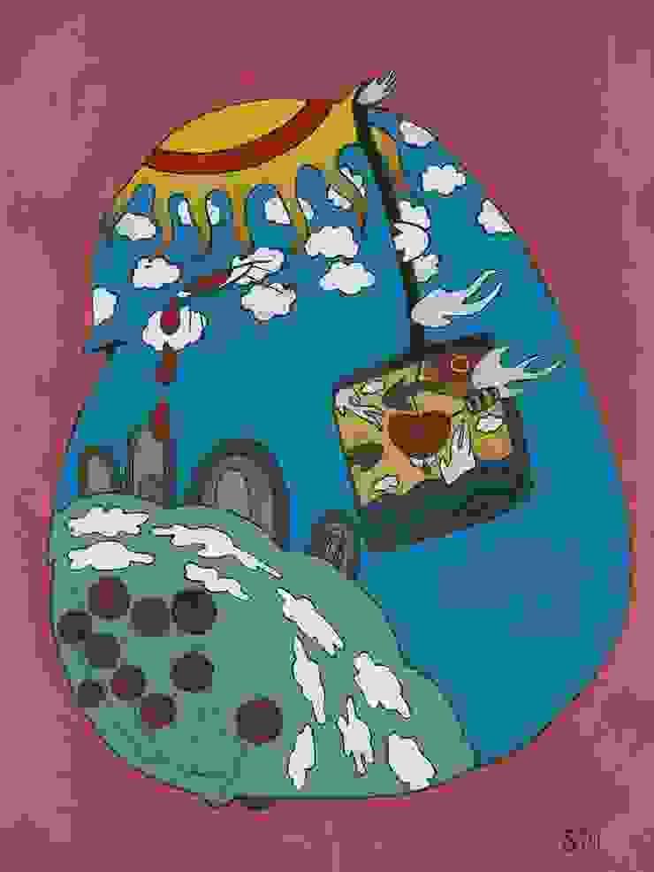 Sophie Magalashvili «Bird One»:  в современный. Автор – NICE CATCH , Модерн