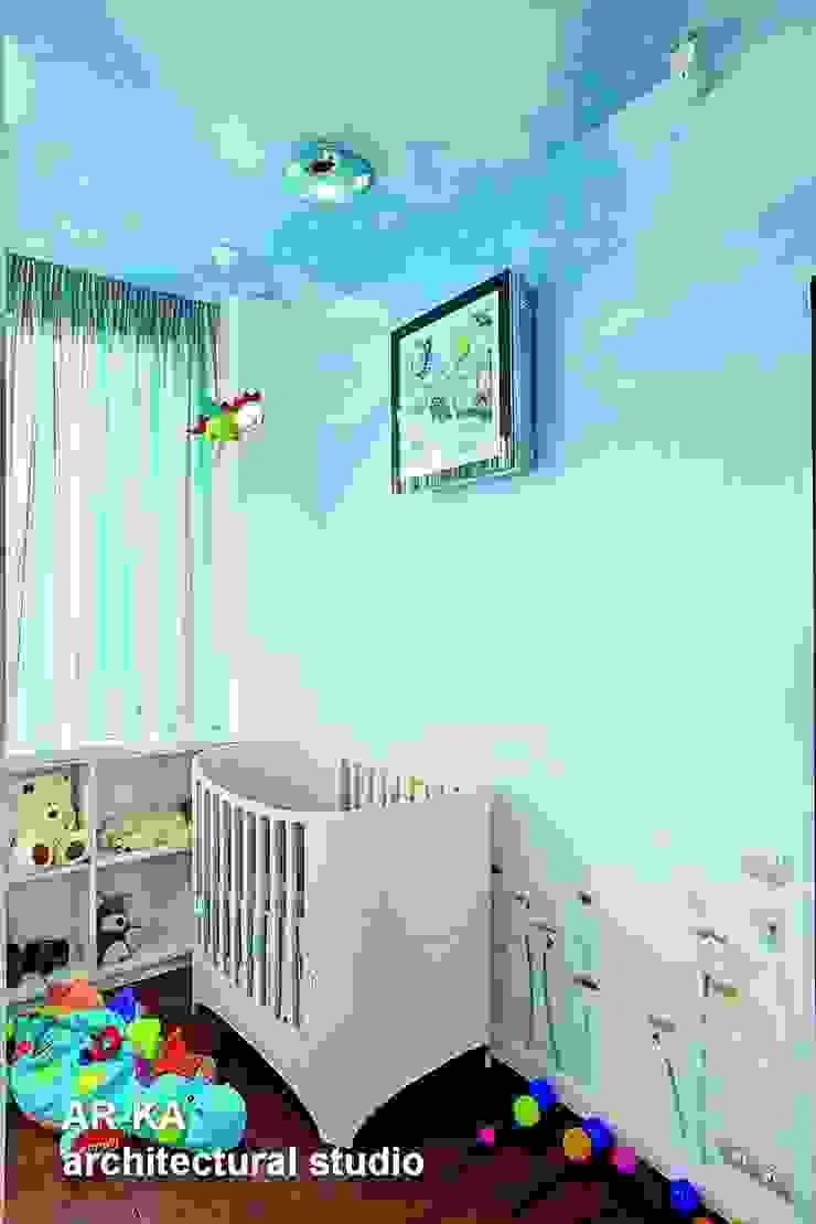 Жизнь в ШОКОЛАДЕ Детская комната в стиле модерн от AR-KA architectural studio Модерн