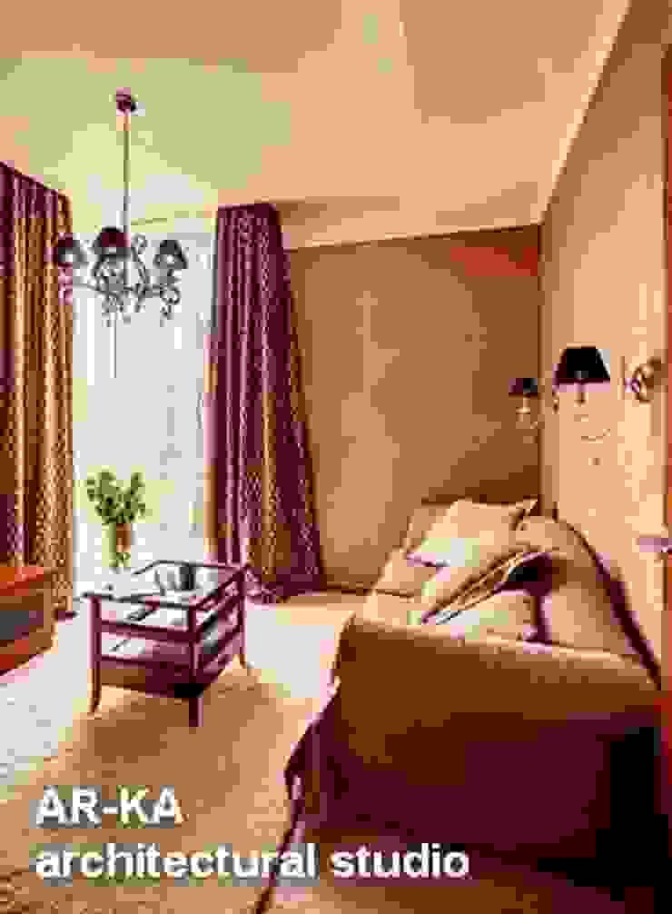 Квартира для подарков Рабочий кабинет в классическом стиле от AR-KA architectural studio Классический