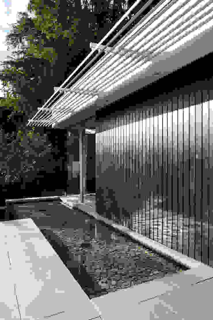 E2 PAVILION ECO HOUSE, BLACKHEATH Modern pool by E2 Architecture + Interiors Modern