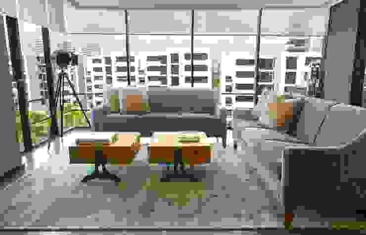 Moderne woonkamers van Concepto Taller de Arquitectura Modern