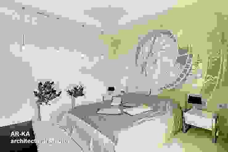 Модернизм в исторической среде Спальня в стиле лофт от AR-KA architectural studio Лофт