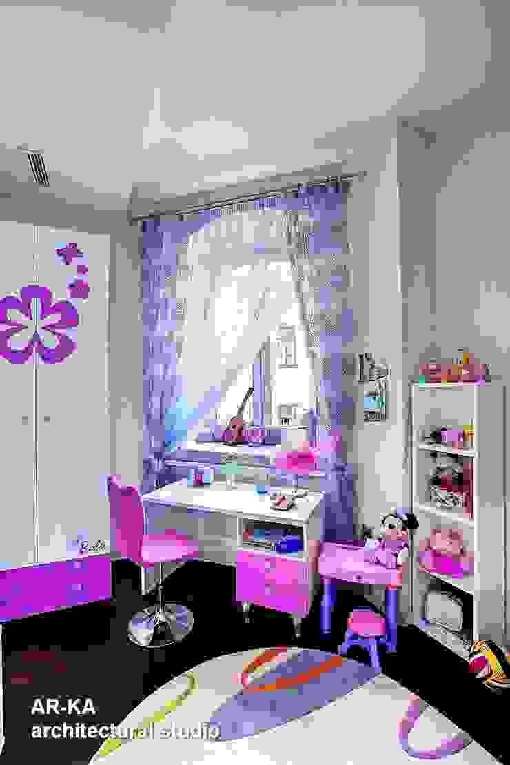 Модернизм в исторической среде Детская комната в стиле модерн от AR-KA architectural studio Модерн
