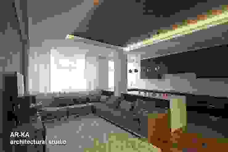 Все сложное - ПРОСТО Кухня в стиле модерн от AR-KA architectural studio Модерн