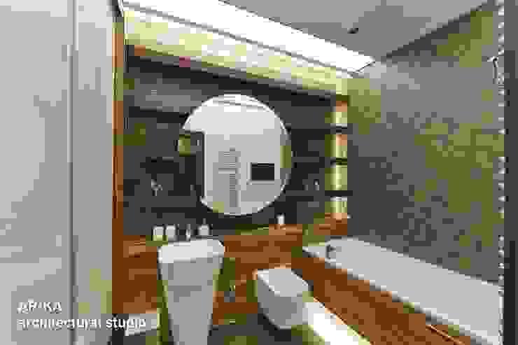 Все сложное - ПРОСТО Ванная комната в стиле модерн от AR-KA architectural studio Модерн