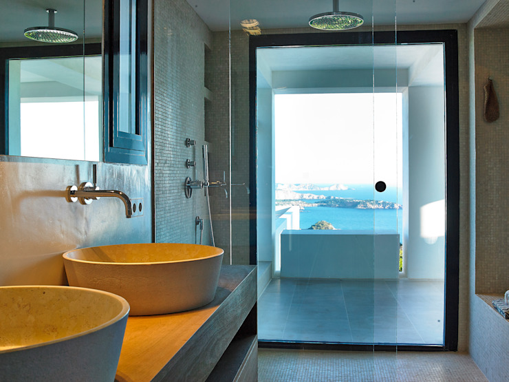 Banheiros mediterrâneos por Atlant de Vent Mediterrâneo