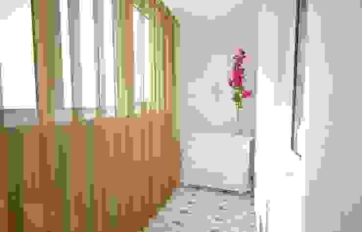 Дизайн проект квартиры. Балкон и терраса в классическом стиле от Андреева Валентина Классический
