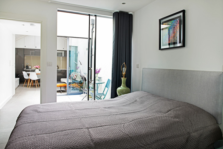 CIRCUS STREET, GREENWICH Modern style bedroom by E2 Architecture + Interiors Modern