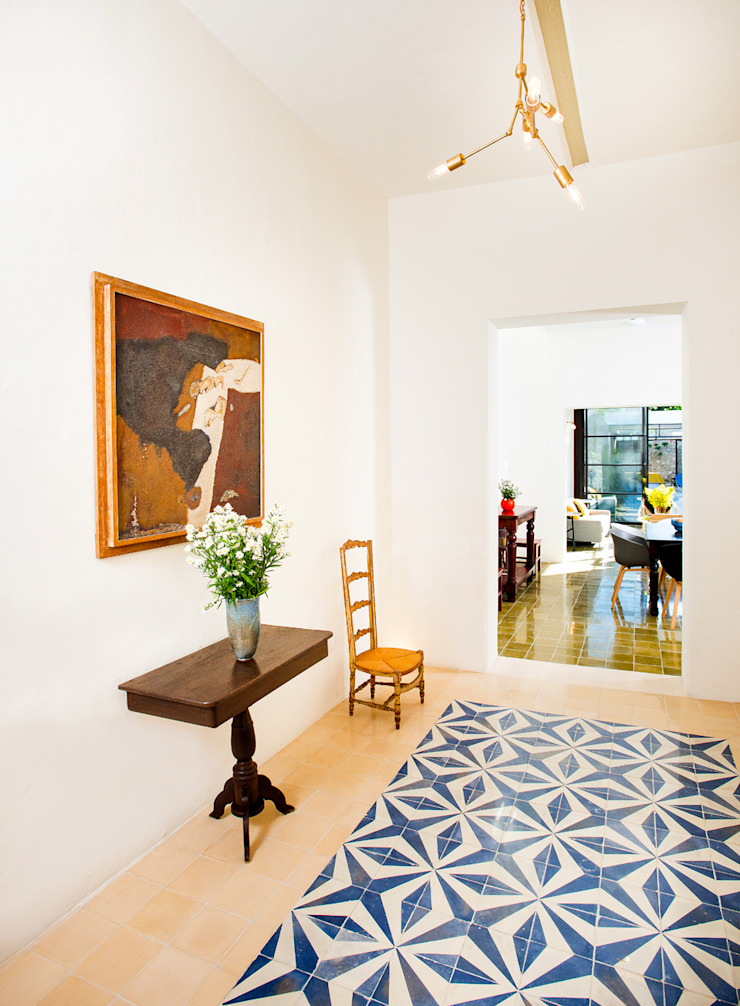Casa FS55 Pasillos, vestíbulos y escaleras modernos de Taller Estilo Arquitectura Moderno