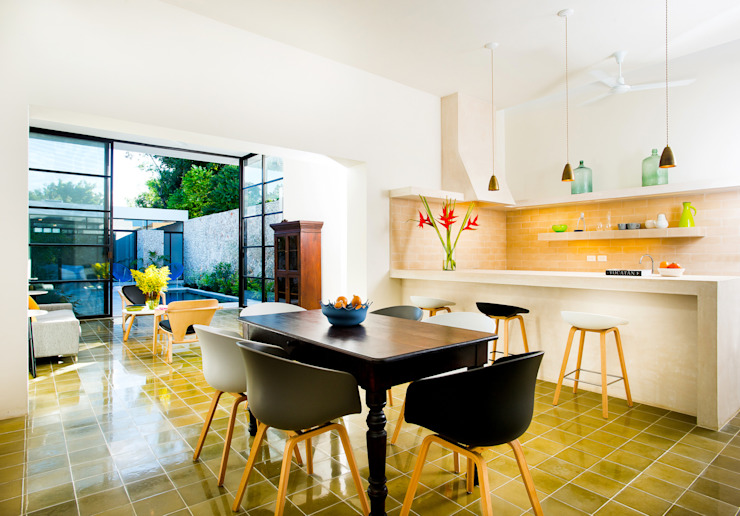 Casa FS55: Comedores de estilo  por Taller Estilo Arquitectura, Moderno