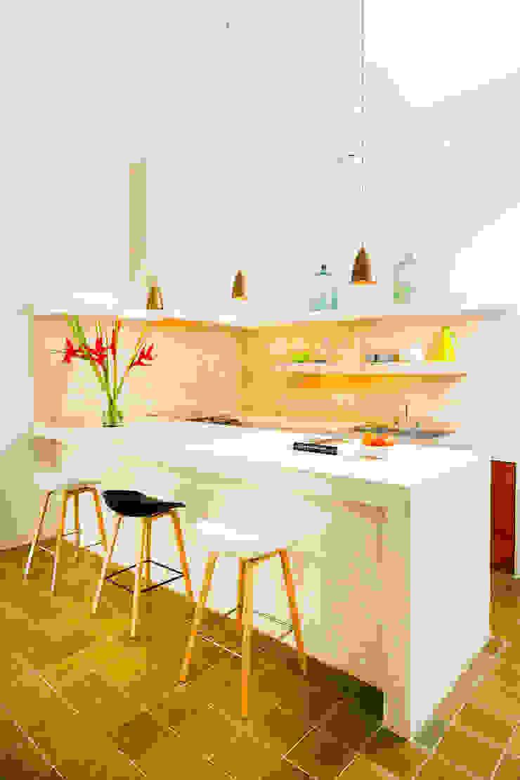 Casa FS55 Cocinas modernas de Taller Estilo Arquitectura Moderno