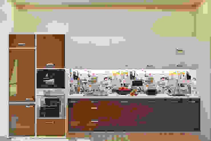 Уютная гостиная в современном стиле Кухня в стиле модерн от Студия дизайна Interior Design IDEAS Модерн