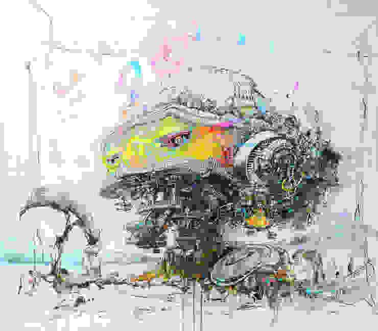 World of another Tomorrow 14 od Filip Kurzewski Nowoczesny