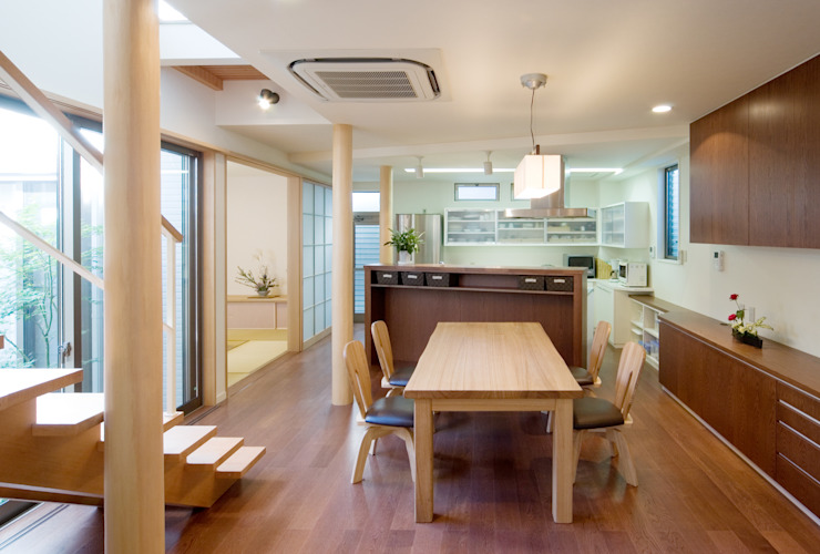 鶴巻デザイン室 Modern Living Room
