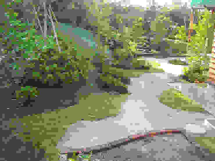 主庭の全景 オリジナルな 庭 の 新美園 オリジナル