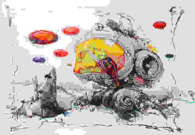 World of another Tomorrow 16 od Filip Kurzewski Nowoczesny
